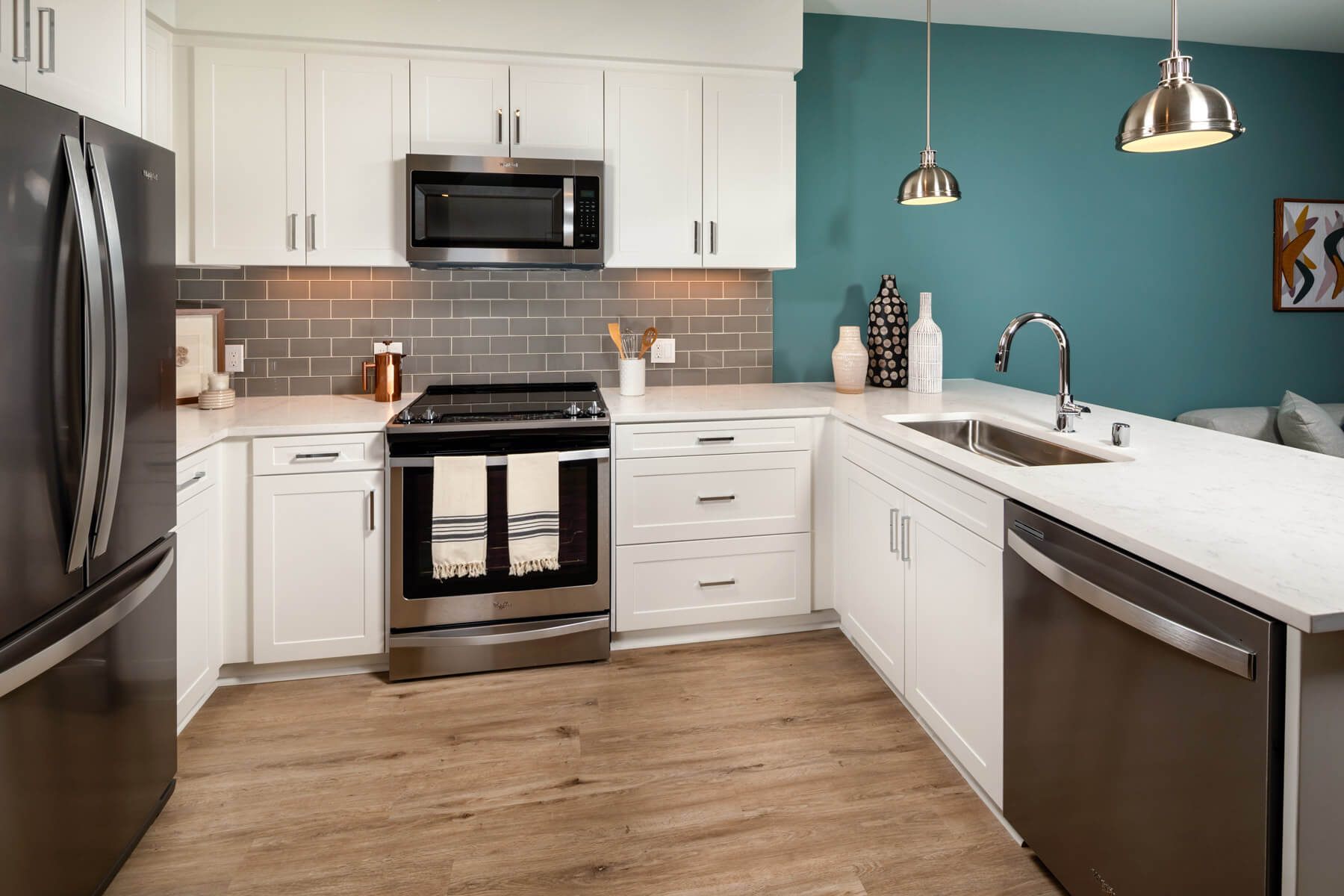 One Bedroom Residence Kitchen