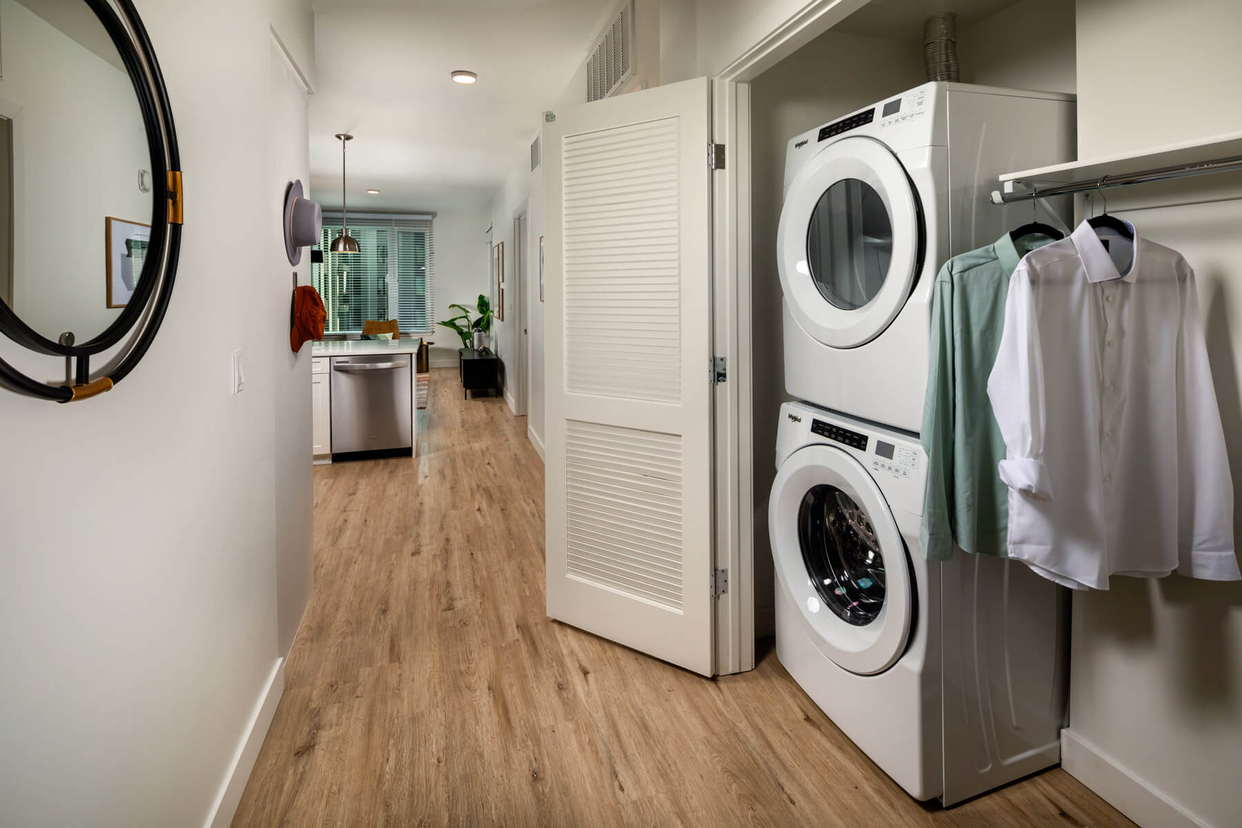 One Bedroom Residence Laundry