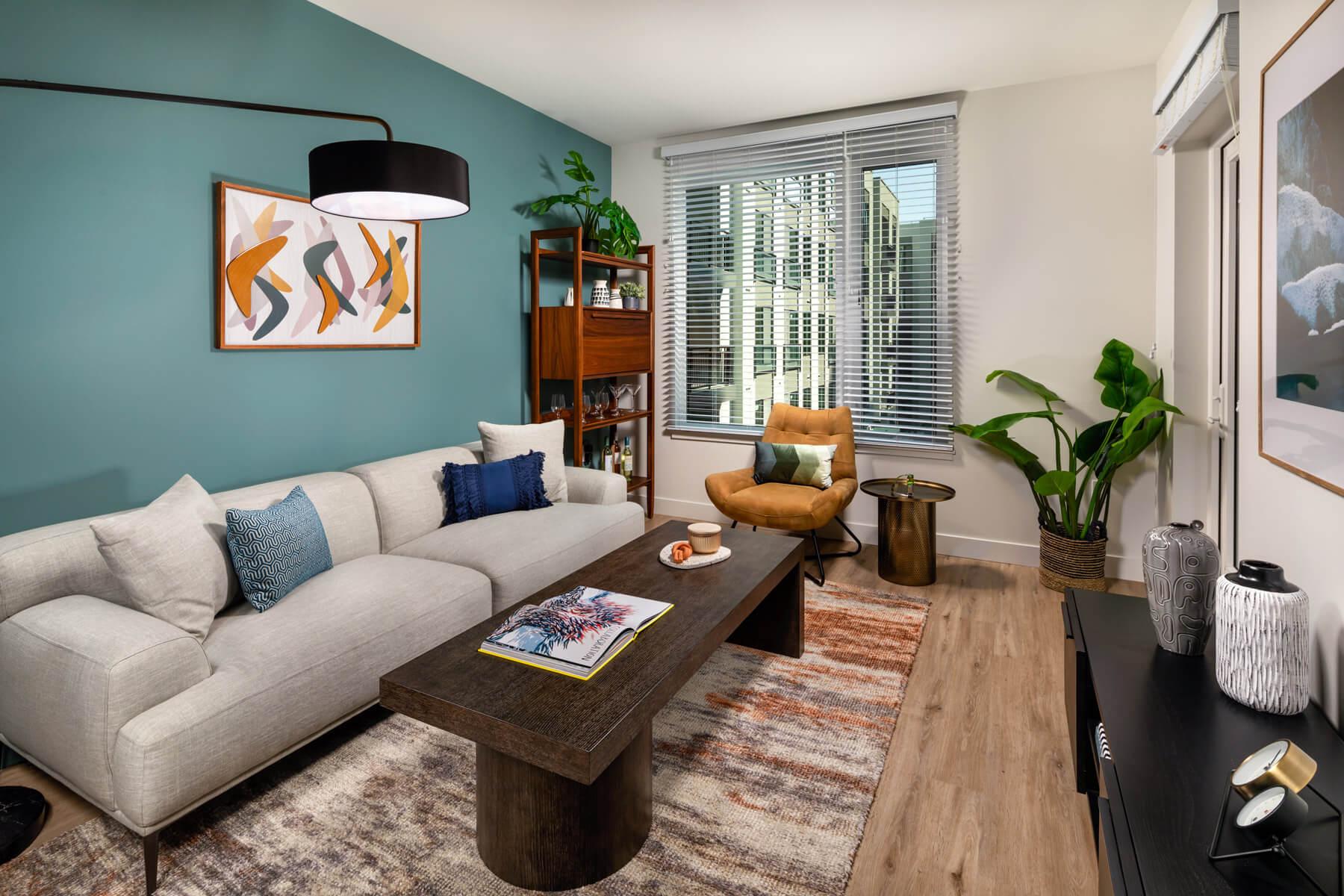 One Bedroom Residence Living Room