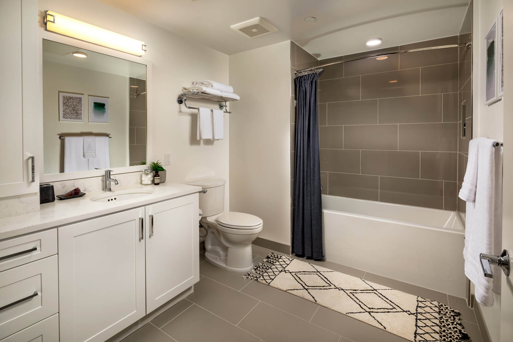 One Bedroom Residence Master Bathroom