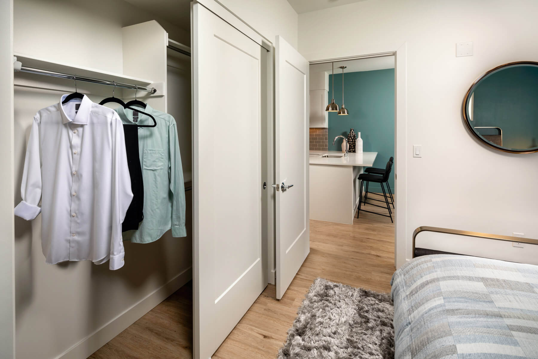 One Bedroom Residence Master Bedroom Closet