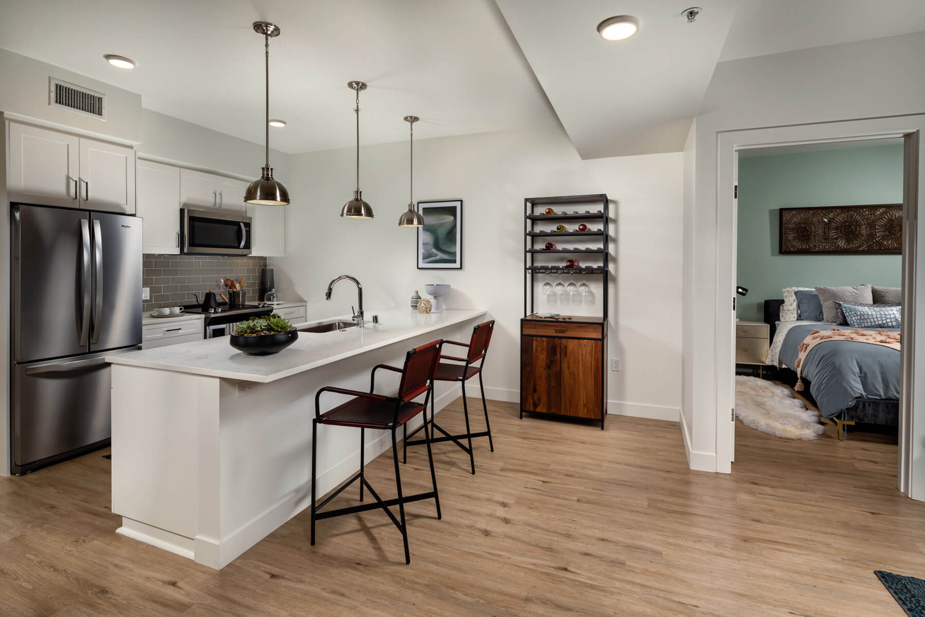 Two Bedroom Residence Kitchen