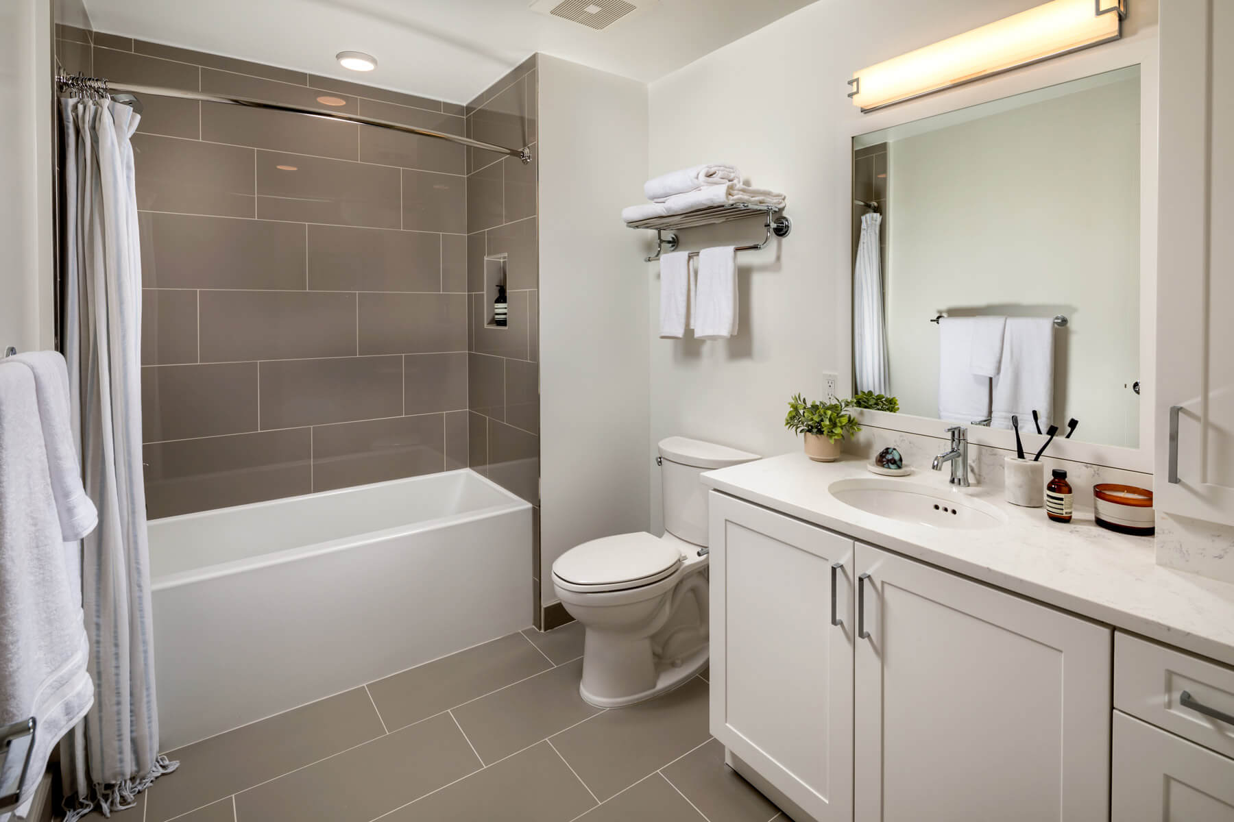 Two Bedroom Residence Master Bathroom