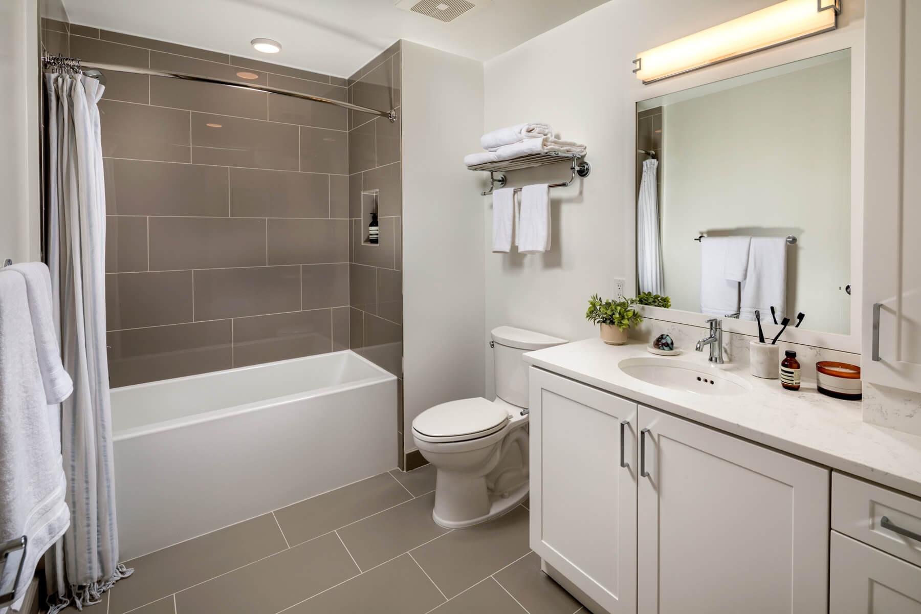 Two Bedroom Residence Master Bedroom Bathroom